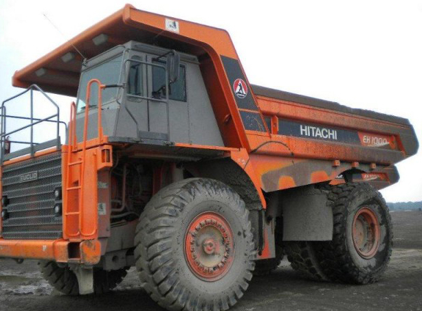 2005 Hitachi EH1000 Off road